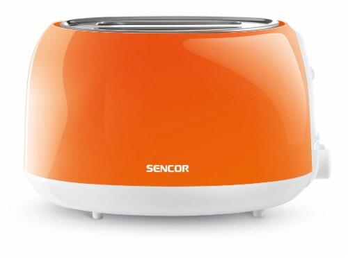 Sencor 2-Slot Toaster - Orange Perspective: front