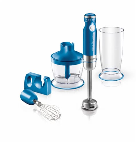 Sencor Stick Blender with Accessories - Blue Perspective: front