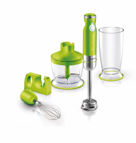 Sencor Stick Blender with Accessories - Green Perspective: front