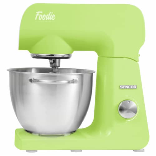 Sencor Stand Mixer with Accessories - Lime Green Perspective: front