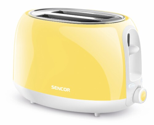 Sencor 2-Slot Toaster - Sunflower Yellow Perspective: front
