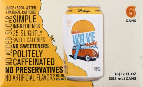Wave Mango Soda Perspective: front