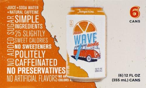 Tangerine Wave Soda Perspective: front