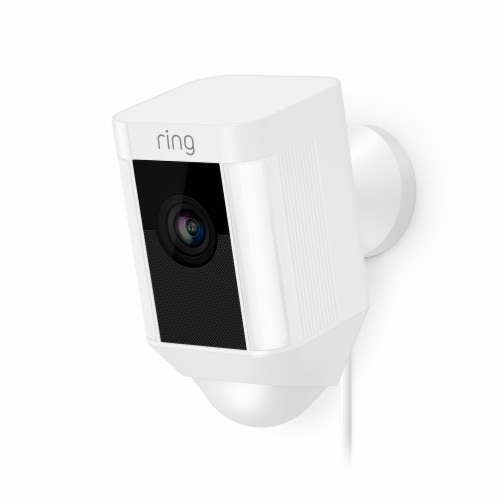 Ring™ Wired Spotlight Cam - White Perspective: front