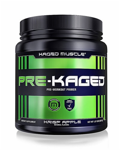 Kaged Muscle  Pre-Kaged®   Krisp Apple Perspective: front
