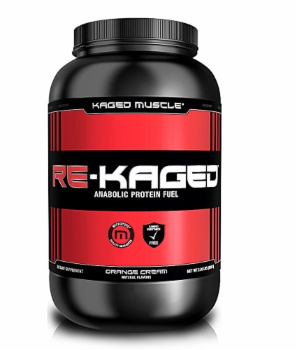 Kaged Muscle  Re-Kaged®   Orange Kream Perspective: front