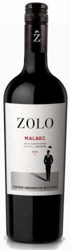 Zolo Malbec Perspective: front