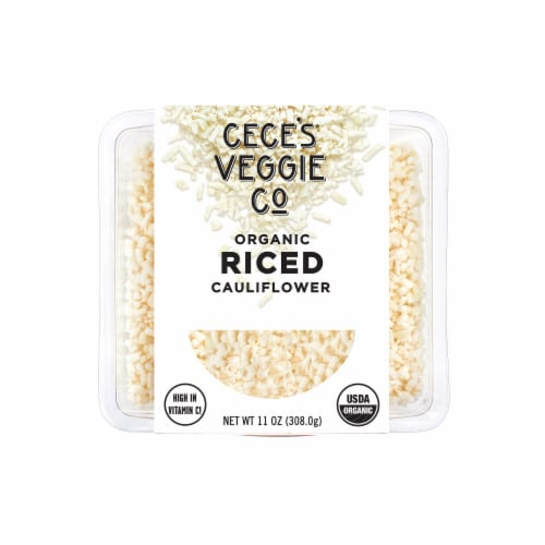 Cece's Veggie Co. Organic Riced Cauliflower Perspective: front