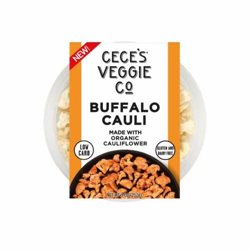 Cece's Veggie Co. Buffalo Cauli Organic Caulifower Bites Perspective: front