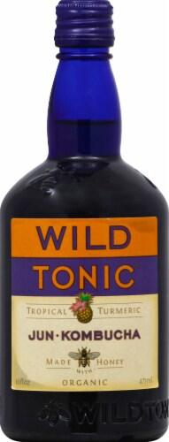 Wild Tonic Tropical Turmeric Jun Kombucha Perspective: front