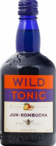 Wild Tonic Organic Mango Ginger Jun Kombucha Perspective: front