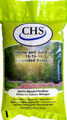 CHS Home And Garden 16-16-16 Extended Release Fertilizer Perspective: front