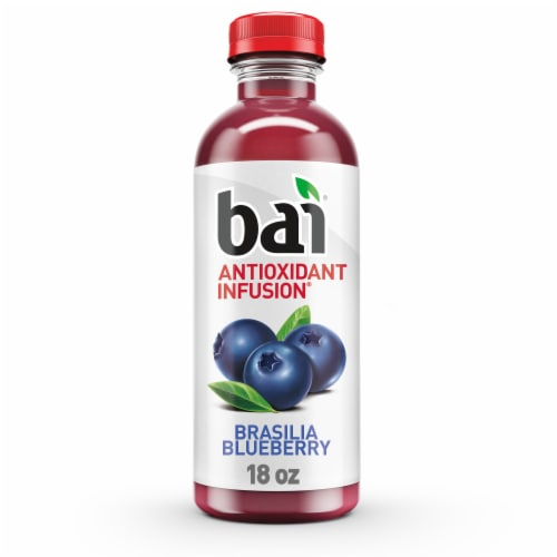 Bai Brasilia Blueberry Antioxidant Infused Beverage Perspective: front