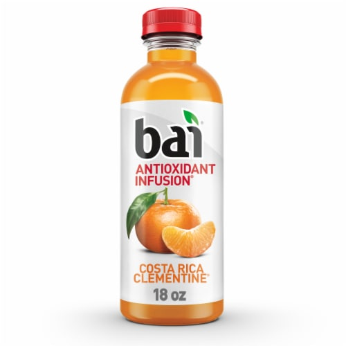 Bai Costa Rica Clementine Antioxidant Infused Beverage Perspective: front
