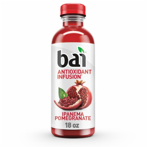 Bai Ipanema Pomegranate Antioxidant Infused Beverage Perspective: front
