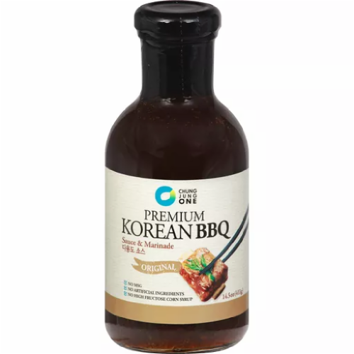 Chung Jung One Premium Korean BBQ Sauce Perspective: front