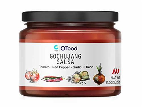 O'Food Gochujang Salsa Perspective: front