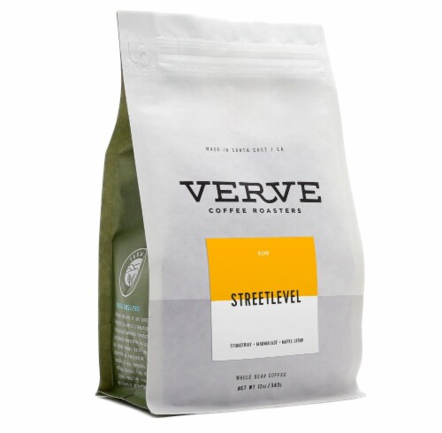 Verve StreetLevel Whole Bean Coffee Perspective: front