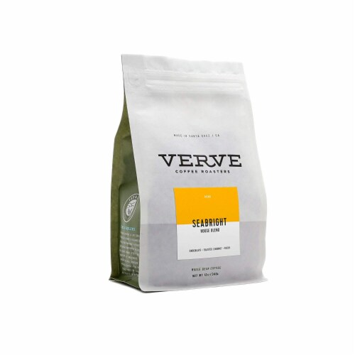 Verve Seabright House Blend Whole Bean Coffee Perspective: front