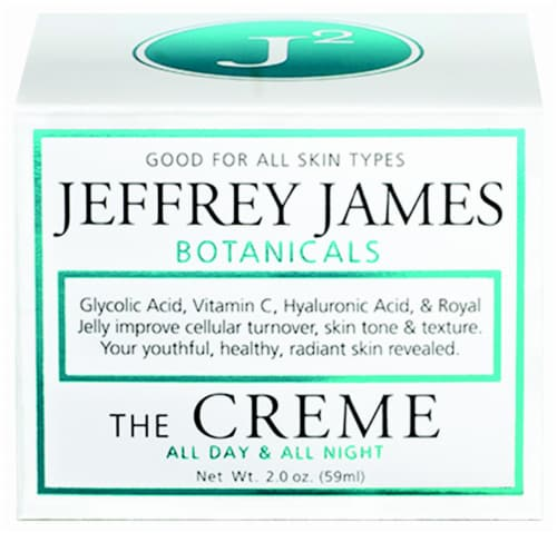 Jefferey James Botanicals All Day & All Night Creme Perspective: front