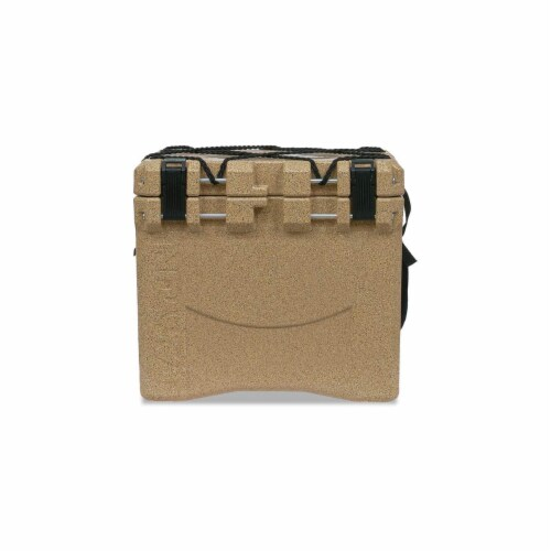 Canyon Coolers Scout 22 Quart 20 Liter Insulated Cooler w/ Tie Downs, Sandstone Perspective: front