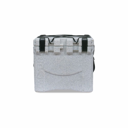 Canyon Coolers Scout 22 Quart 20 Liter Insulated Cooler w/ Ties, White Marble Perspective: front