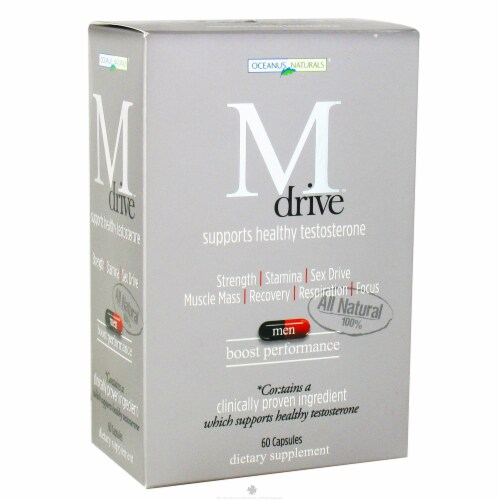Dreambrands M Drive™ Testosterone Support Capsules Perspective: front