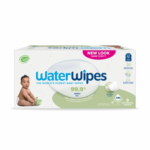 WaterWipes Soapberry Baby Wipes Perspective: front
