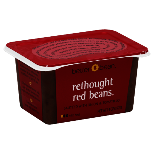 Better Bean Rethought Red Beans Perspective: front