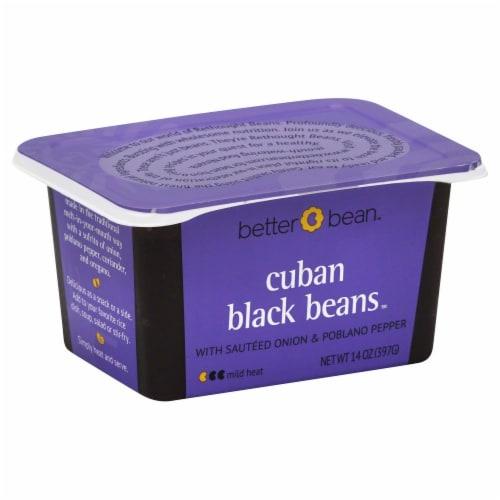 Better Bean Cuban Black Beans Perspective: front