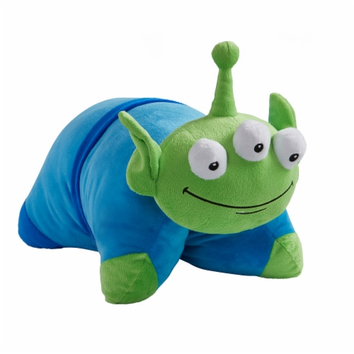 Pillow Pets Disney Toy Story Little Green Man Plush Toy Perspective: front