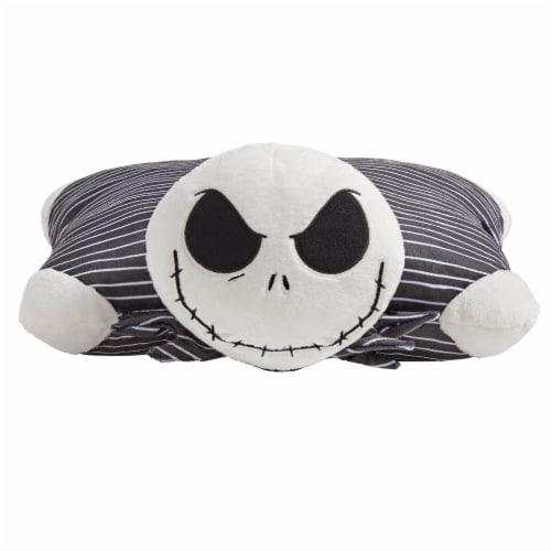 Pillow Pets Disney Jack Skellington Plush Toy - Black Perspective: front