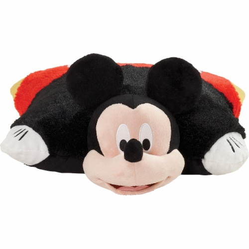 Pillow Pets Mickey Mouse Pillow & Sleeptime Lite Plush Slumber Pack Perspective: front
