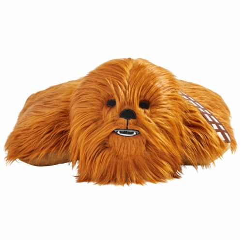 Pillow Pets Disney Star Wars Chewbacca & R2D2 Sleeptime Light Slumber Pack Perspective: front