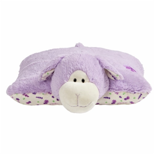 Pillow Pets Sweet Lavender Scented Lamb Plush Toy Perspective: front