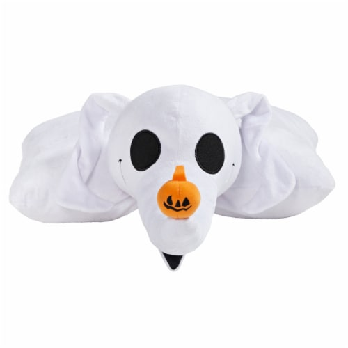 Pillow Pets Disney Nightmare Before Christmas Zero Plush Toy Perspective: front