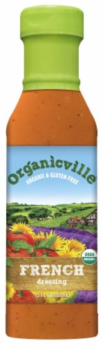 Organicville Organic French Dressing Perspective: front