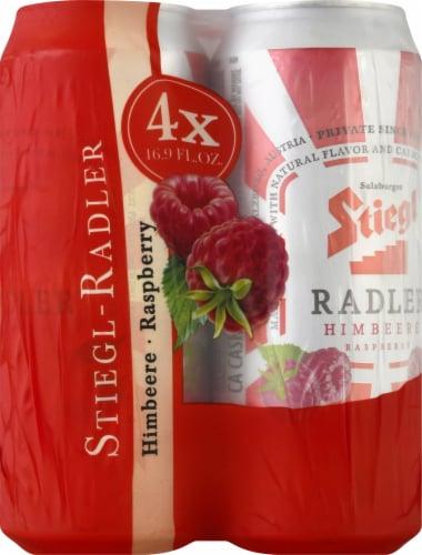 Stiegl Raspberry Radler Beer Perspective: front