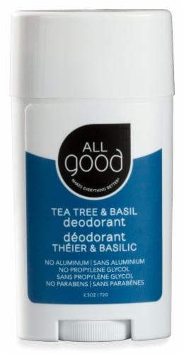 All Good Tea Tree & Basil Deodorant Perspective: front