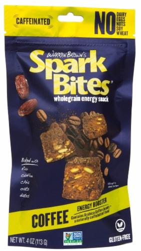 Warren Brown's Spark Bites Coffee Energy Snack Perspective: front