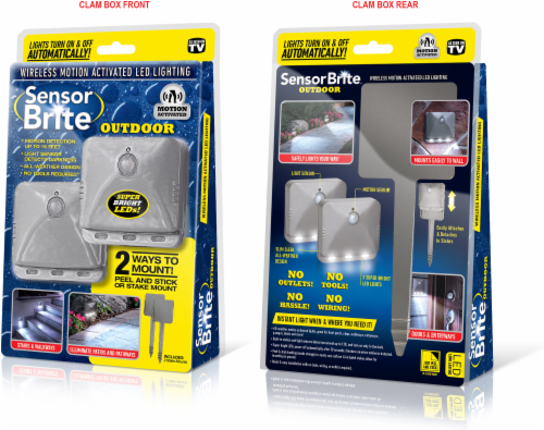 Kroger - Sensor Brite Wireless Motion Activated Outdoor LED