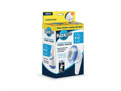 Fuzz Free Automatic Rechargeable Fabric Shaver Perspective: front