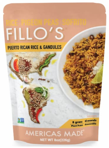 FILLO'S Puerto Rican Rice & Gandules Perspective: front