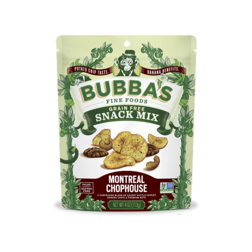 Bubba's Montreal Chophouse Snack Mix Perspective: front