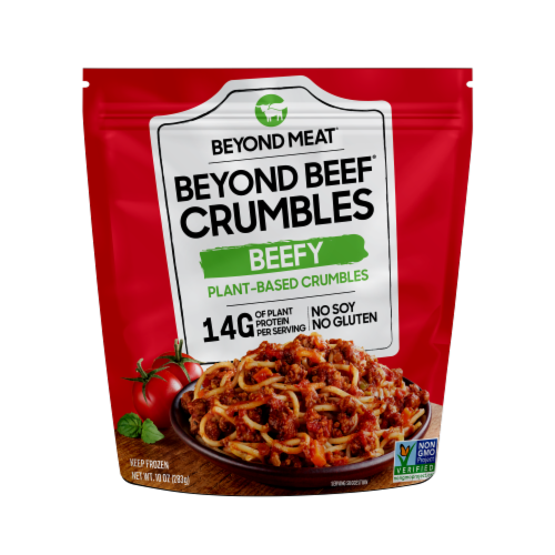 Beyond Meat® Beefy Plant-Based Protein Crumbles Perspective: front