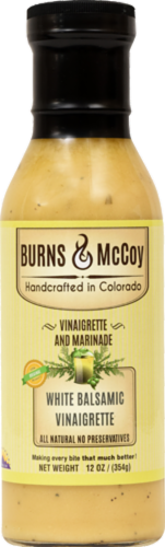 Burns & McCoy White Balsamic Vinaigrettel Perspective: front