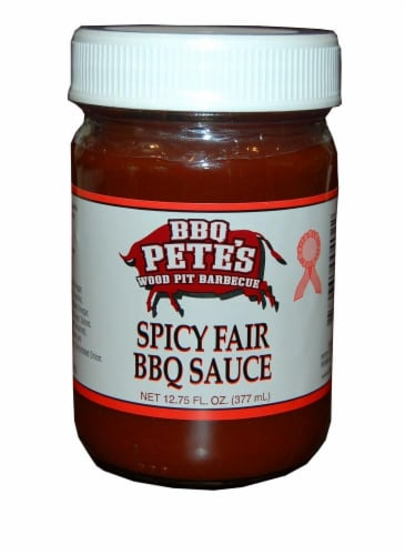BBQ Pete's Spicy Western Sauce Perspective: front