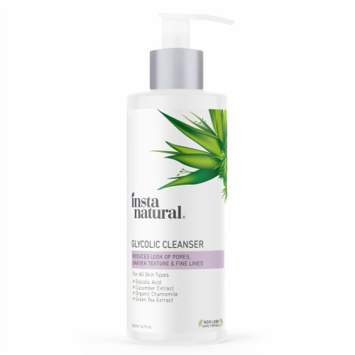 InstaNatural Glycolic Cleanser Perspective: front