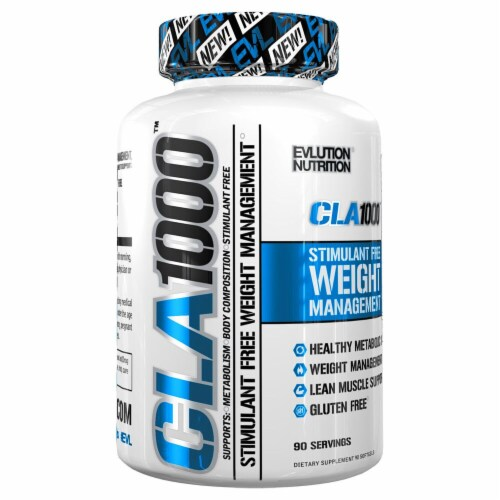 Evlution Nutrition  CLA1000™ Perspective: front