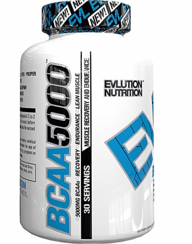 Evlution Nutrition  BCAA5000™ Perspective: front